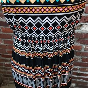 Apt. 9 Dresses - Colorful Patterned Maxi Dress